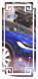 特斯拉MODEL X极光蓝,价值1.6万